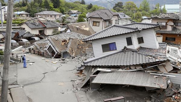 Nhật Bản và những trận động đất đi vào lịch sử