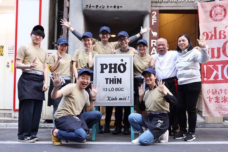 Hương vị quê hương trên phố người Việt ở Nhật - Phở Thìn