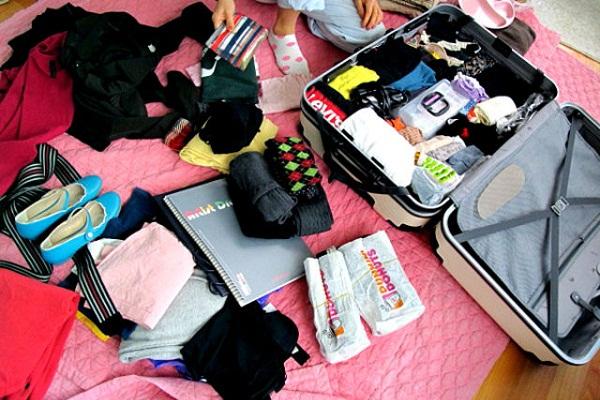 Bạn không nên mang quá nhiều quần áo khi tới Nhật