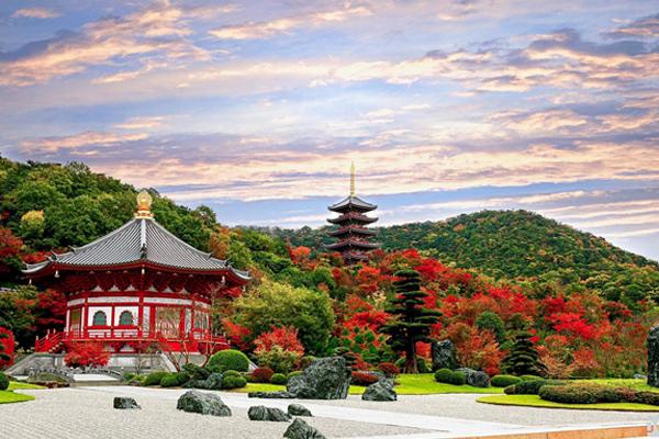 Những kỷ lục của ngôi chùa Nhật Bản Vương đường Phật giáo