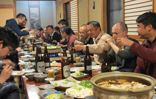 Những nét lạ trong văn hóa Nhật Bản: tiệc tất niên Bonenkai