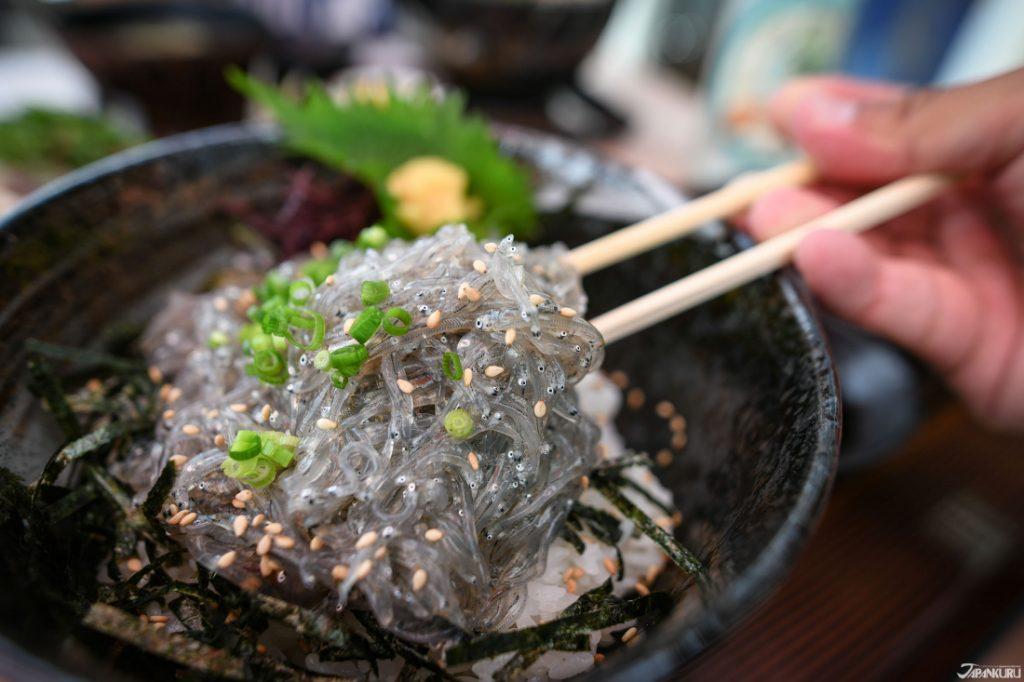 Cá cơm Shirasu