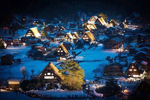Làng cổ Nhật Bản Shirakawa-go