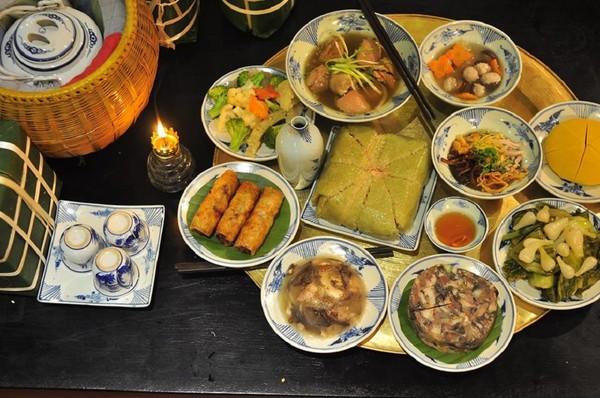 các món ăn cổ truyền ngày tết