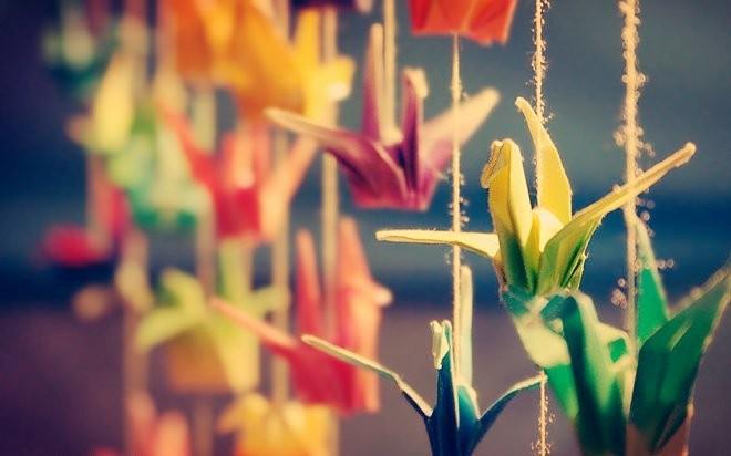 Biểu tượng may mắn tại Nhật Bản: 1000 chú hạc Senbazuru