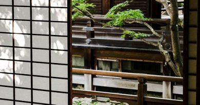 Chiếu tatami Nhật Bản à một trong những vật dụng gia đình truyền thống trong ngôi nhà người Nhật Bản.