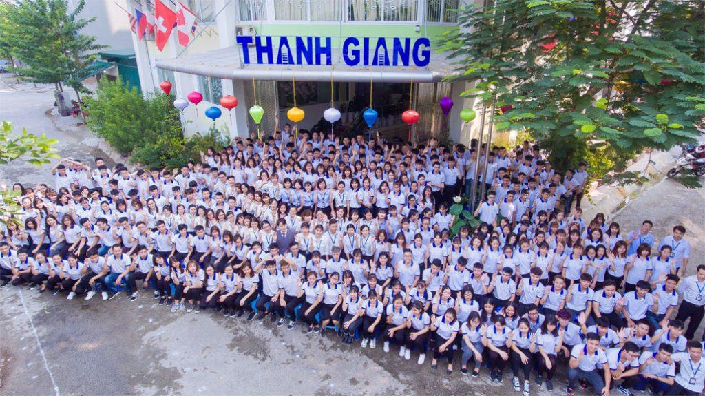 Đội ngũ nhân viên Thanh Giang trẻ, năng động, nhiệt huyết