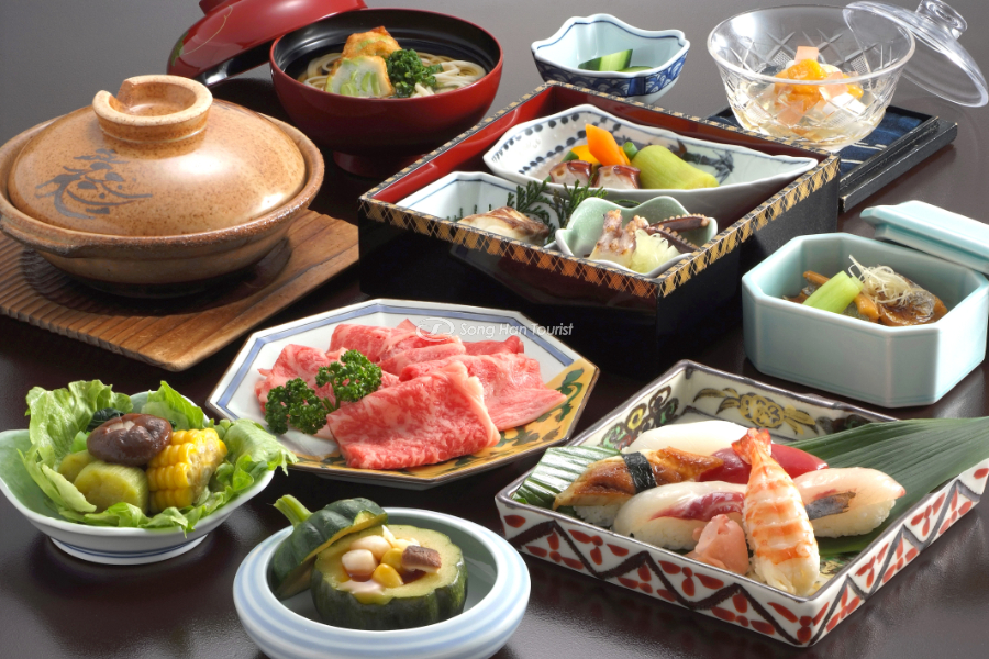 Ẩm thực Kaiseki Ryori độc đáo