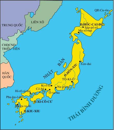 Vì là một đảo quốc, nên xung quanh Nhật Bản toàn là biển
