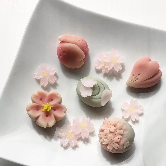 Những chiếc bánh đặc trưng của ẩm thực Nhật Bản vô cùng đáng yêu