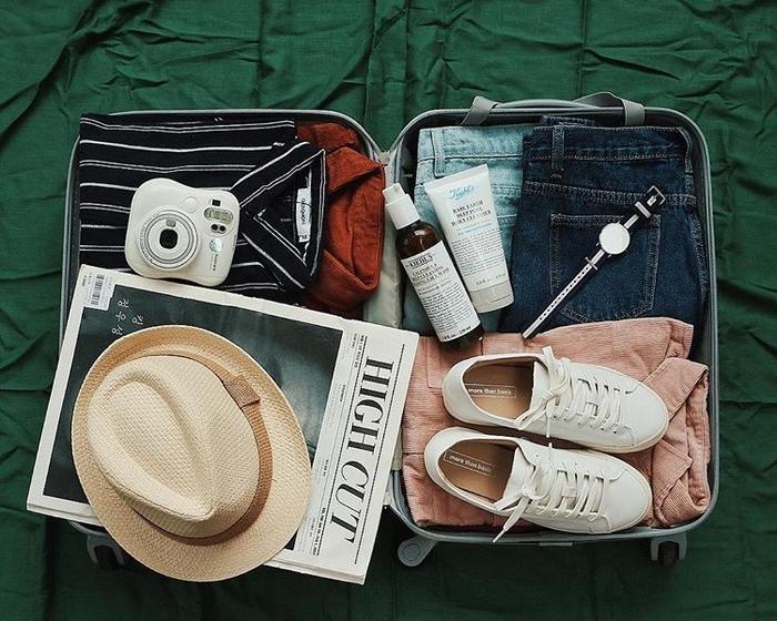 Chuẩn bị hành lý sẵn sàng cho công cuộc khám phá