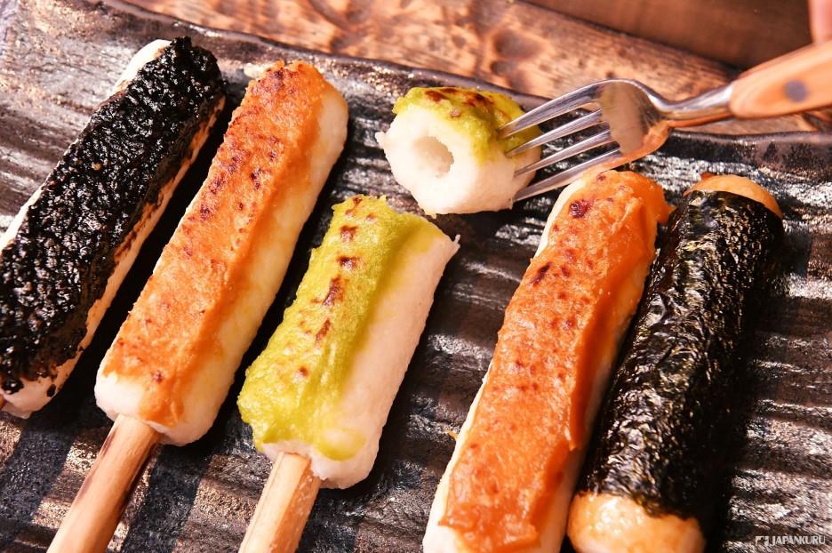 Kiritanpo là món ăn đường phố nổi tiếng khắp Nhật Bản