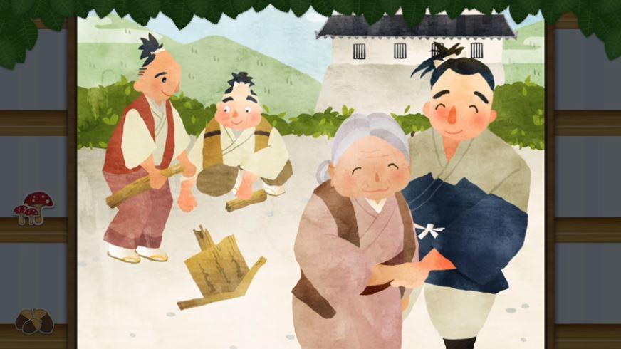 Hẻm núi người già – câu chuyện cổ tích kinh điển của Nhật Bản