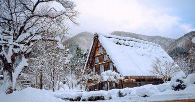 Ngôi làng tuyết vùng Hokkaido