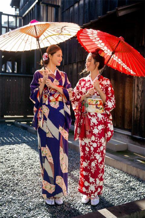 Trang phục truyền thống của Nhật Bản Kimono