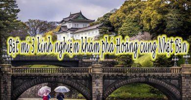 Bật mí 3 kinh nghiệm khám phá Hoàng cung Nhật Bản