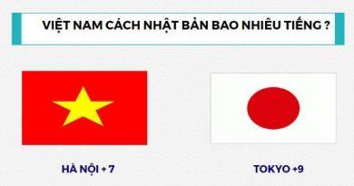 Giờ Nhật Bản so với Việt Nam chênh lệch như thế nào