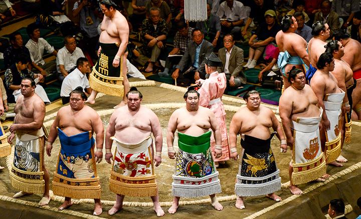 Sumo Nhật Bản nặng bao nhiêu? Làm sao để trở thành sumo Nhật bản