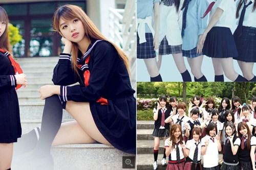 Đi đầu trong xu hướng thời trang hiện đại của Nhật Bản là các học sinh
