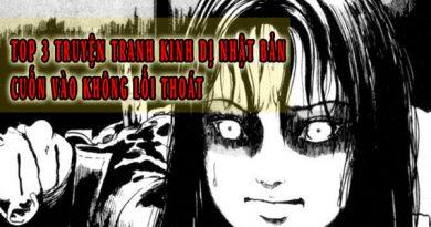 TOP 3 truyện tranh kinh dị Nhật Bản khiến người đọc bị cuốn vào không lối thoát