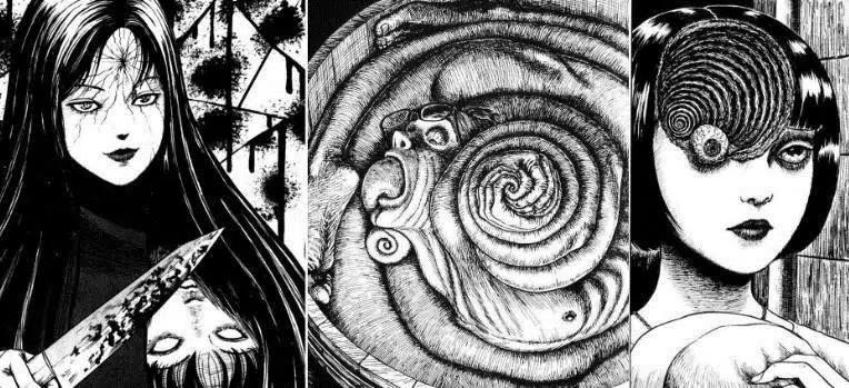 """Khóc thét vi Xoáy ốc của """"ông hoàng kinh dị"""" Junji Ito"""