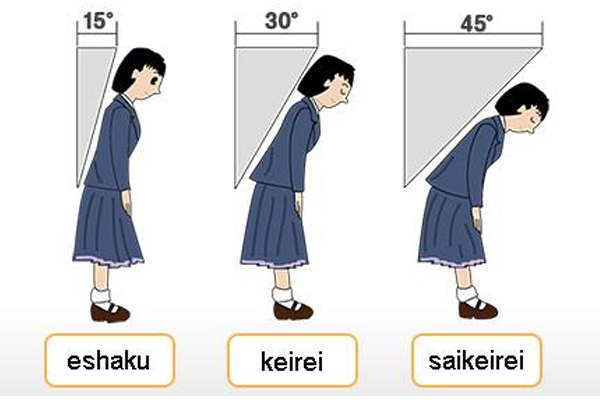 Văn hóa cúi chào trong giao tiếp của người Nhật