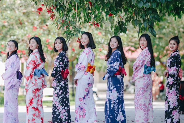 Yukata- trang phục truyền thống của mùa hè