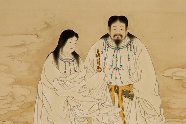 Thần Izanagi và Thần Izanami