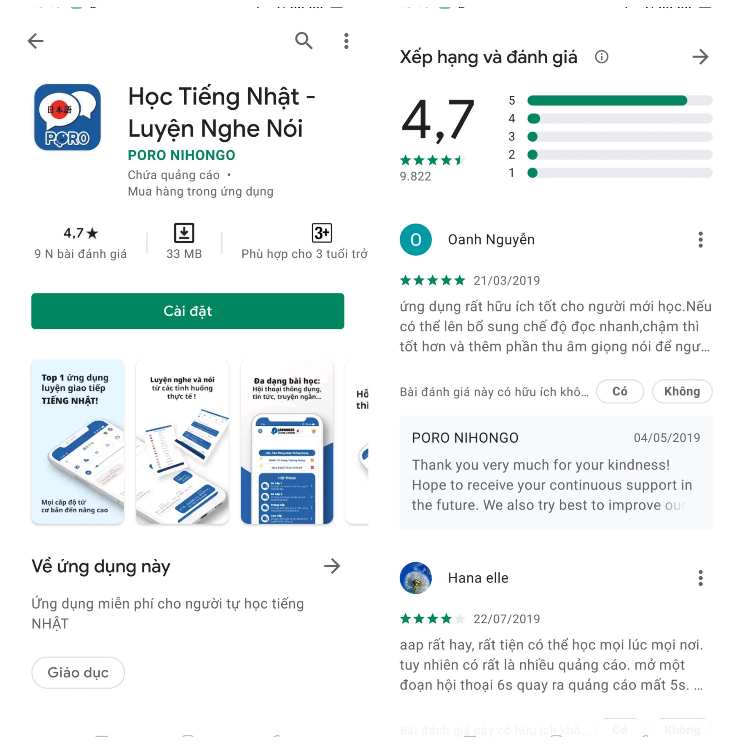 App học giao tiếp tiếng Nhật tốt nhất