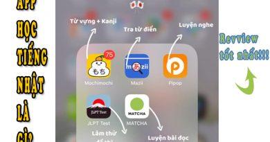 App học tiếng Nhật là gì?