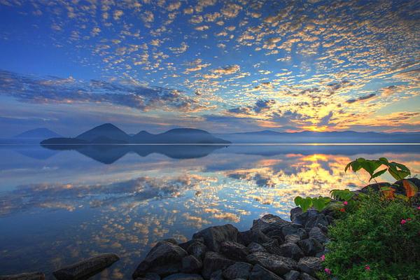 Một thoáng thơ mộng hồ Toya Hokkaido
