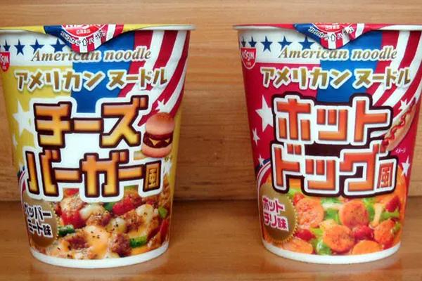 Hamburger ramen và hot dog ramen một trong những món mì Nhật Bản đặc biệt nhất