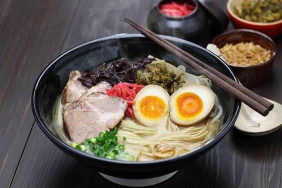 Mỳ Ramen là món ăn Nhật Bản nổi tiếng không thể bỏ qua của ẩm thực xứ Phù Tang