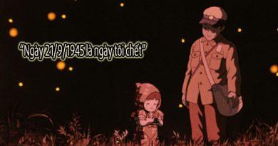 Phim chiến tranh Nhật Bản Mộ đom đóm