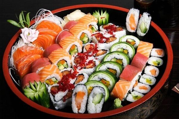 Sushi Nhật Bản có mấy loại