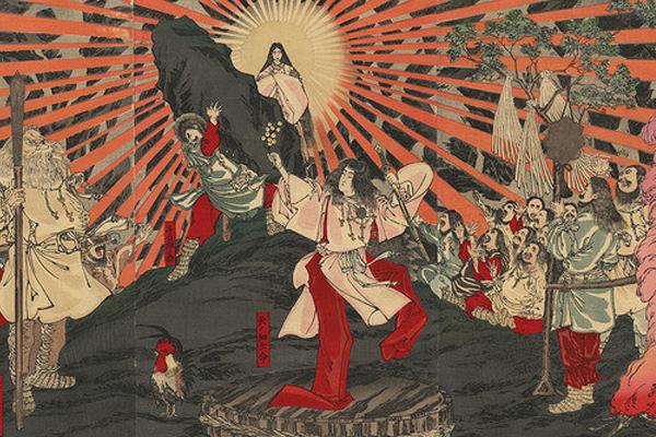 Nữ thần Amaterasu - Nữ thần của ánh sáng trong thần thoại Nhật Bản