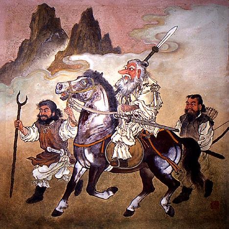 Thần đạo Nhật Bản: Thần đất Sarutahiko-Okami