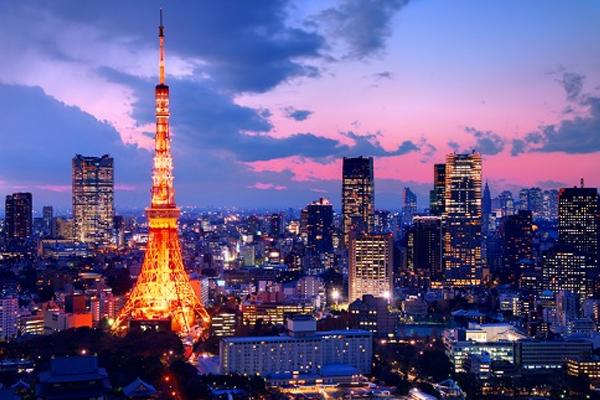 Tokyo hoa lệ của đáo lớn Honsu