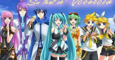 Vocaloid là dạng người máy có hình dạng như con người có thể phát ra âm thanh