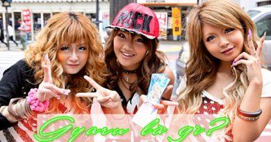 Gyaru được hiểu là một phong cách thời trang của đường phố Nhật Bản
