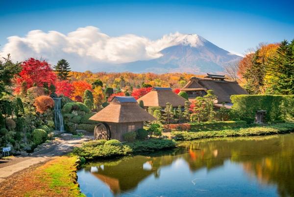 Vẻ đẹp của làng cổ Kanagawa