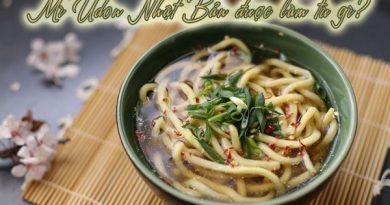 """Tìm hiểu """"tất tần tật"""" về mì Udon Nhật Bản"""