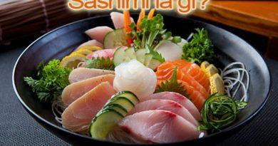Sashimi là món ăn truyền thống của Nhật Bản từ những nguyên liệu tươi sống