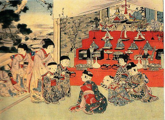 Nguồn gốc của Lễ hội búp bê Nhật Bản Hina Matsuri