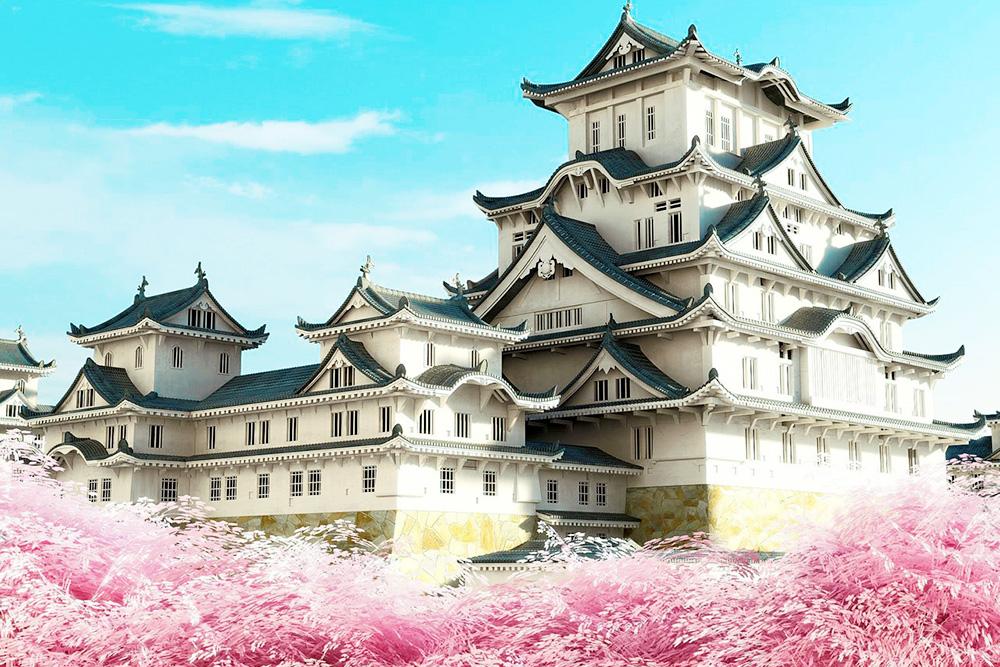Kiến trúc lâu đài tựa một mê cung