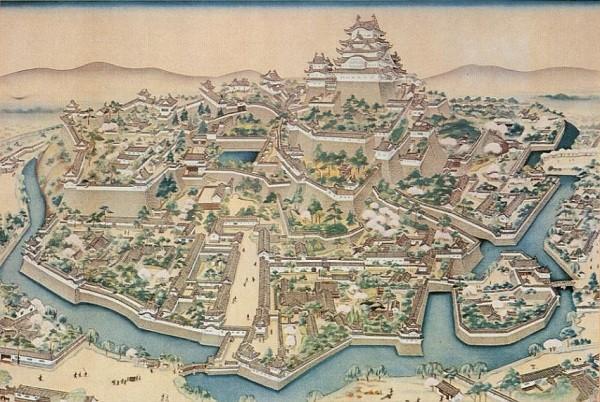 Lịch sử lâu đài cổ Himeji Nhật Bản