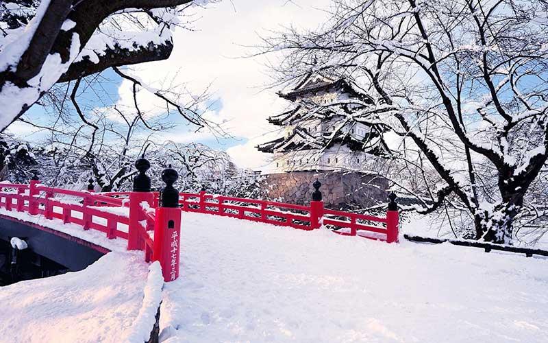 Thời tiết Nhật Bản tháng 2