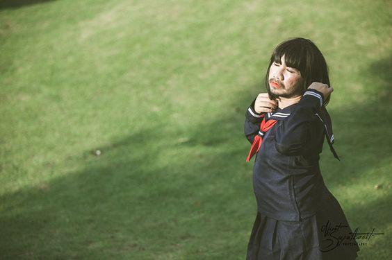 Cosplay nữ sinh Nhật Bản