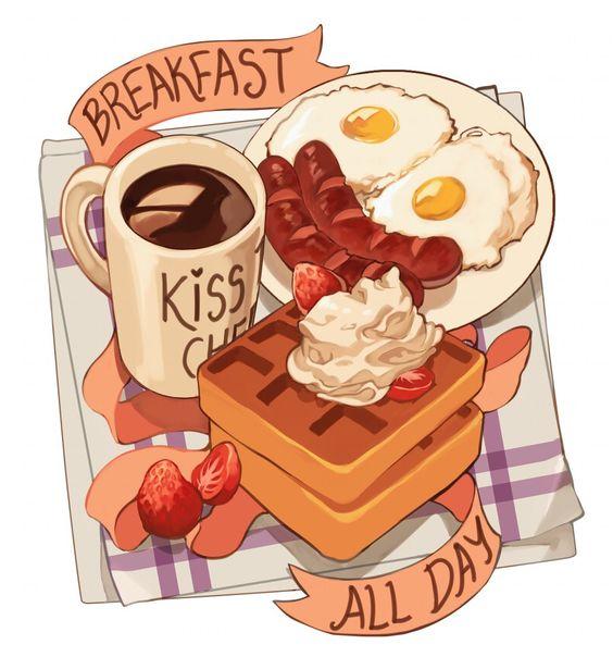 Bữa sáng hết sức xinh xẻo