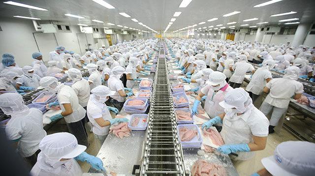 Ngành chế biến thủy sản Nhật Bản